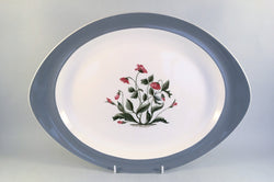 "Wedgwood - Mayfield - Oval Platter - 14 3/4"" - The China Village"