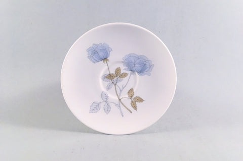 "Wedgwood - Ice Rose - Coffee Saucer - 4 7/8"" - The China Village"
