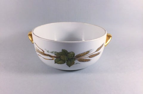 Royal Worcester - Evesham - Gold Edge - Casserole Dish - 2pt (Base Only) - The China Village