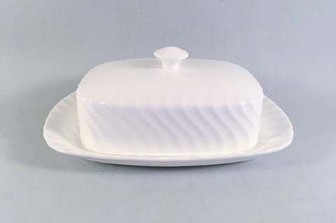 Wedgwood - Candlelight - Butter Dish