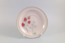 "Wedgwood - Raspberry Cane - Sterling Shape - Tea Saucer - 6"" - The China Village"