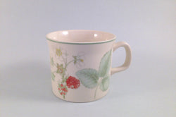 "Wedgwood - Raspberry Cane - Sterling Shape - Teacup - 3 1/4 x 2 5/8"" - The China Village"