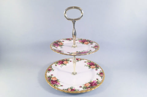 Royal Albert - Old Country Roses - Cake Stand - The China Village