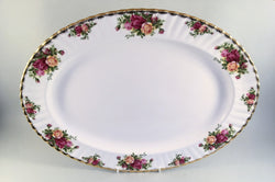"Royal Albert - Old Country Roses - Oval Platter - 16 1/4"" - The China Village"