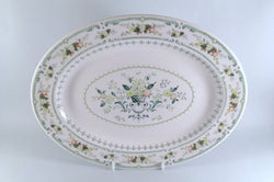 "Royal Doulton - Provencal - Oval Platter - 13 1/4"" - The China Village"