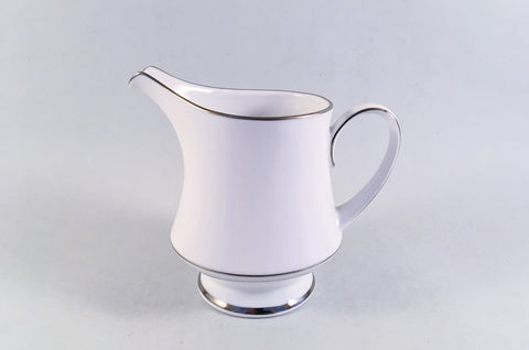 Noritake - Regency Silver - Milk Jug - 1/2pt - The China Village