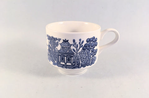 "Churchill - Willow - Blue - Teacup - 3 1/8 x 2 7/8"" - The China Village"