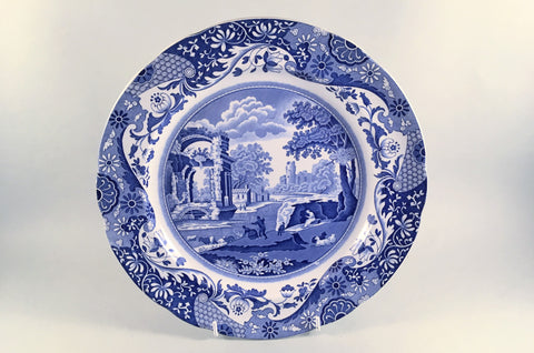 "Spode - Italian - Blue (Old Backstamp) - Dinner Plate - 10 3/8"" - The China Village"