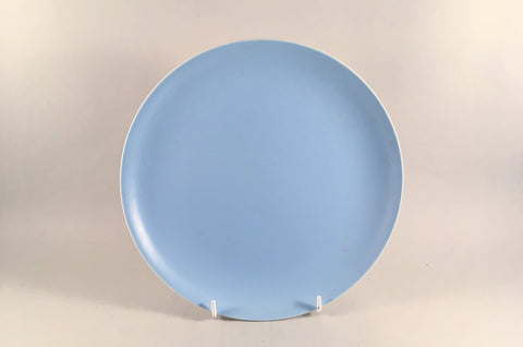 "Poole - Dove Grey & Sky Blue - Starter Plate - 9"" - The China Village"