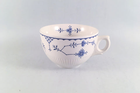 "Furnivals - Denmark - Blue - Breakfast Cup - 4"" x 2 1/2"" - The China Village"