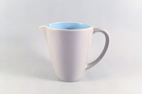 Poole - Dove Grey & Sky Blue - Milk Jug - 1/2pt - The China Village