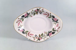 Wedgwood - Hathaway Rose - Sauce Boat Stand - The China Village