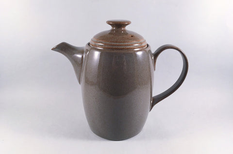 Denby - Greystone - Coffee Pot - 2 1/2pt - The China Village