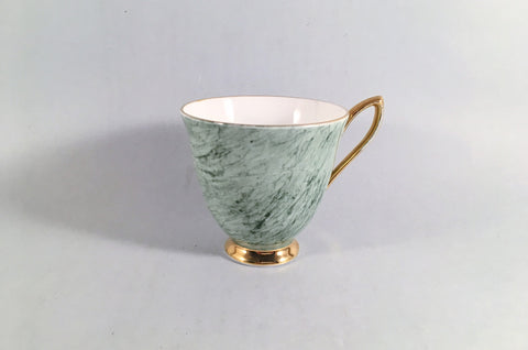 "Royal Albert - Gossamer - Coffee Cup - 3"" x 2 3/4"" - Green - The China Village"