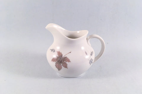 Royal Doulton - Tumbling Leaves - Cream Jug - 1/4pt - The China Village