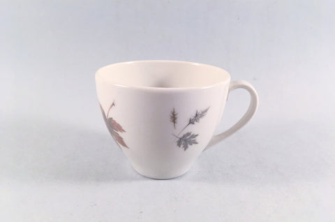 "Royal Doulton - Tumbling Leaves - Coffee Cup - 2 7/8 x 2 1/4"" - The China Village"