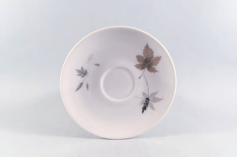 "Royal Doulton - Tumbling Leaves - Coffee Saucer - 5 1/8"" - The China Village"