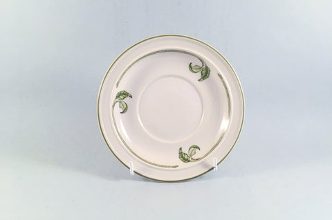 "Wedgwood - Wild Apple - Granada Shape - Tea Saucer - 6"" - The China Village"