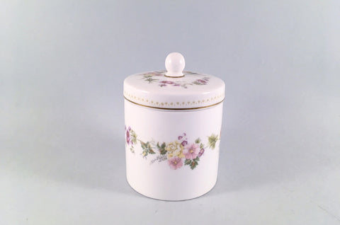 "Wedgwood - Mirabelle - Jar - 4 1/8"" - The China Village"