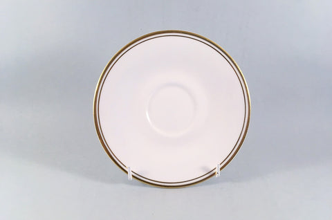 "Royal Doulton - Gold Concord - Tea / Soup Cup Saucer - 6 1/8"" - The China Village"