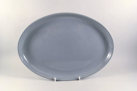 "Denby - Homestead Brown - Oval Platter - 12 7/8"" - The China Village"