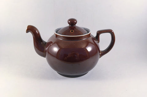 Denby - Homestead Brown - Teapot - 2 1/4pt - The China Village