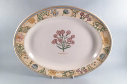 "Wedgwood - Garden Maze - Oval Platter - 14"" - The China Village"
