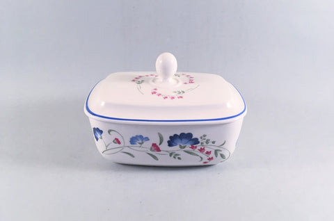 Royal Doulton - Windermere - Expressions - Butter Dish - The China Village