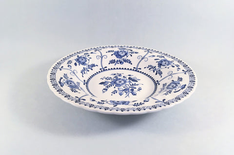 "Johnsons - Indies - Rimmed Bowl - 8 5/8"" - The China Village"