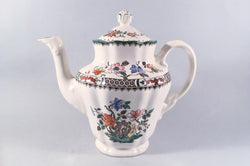 Spode - Chinese Rose - New Backstamp - Coffee Pot - 1pt - The China Village