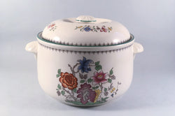Spode - Chinese Rose - New Backstamp - Casserole Dish - 4pt - The China Village