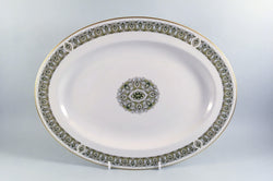 "Royal Doulton - Celtic Jewel - Oval Platter - 13 1/4"" - The China Village"