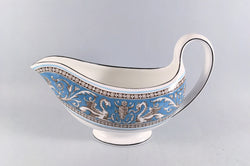 Wedgwood - Florentine - Turquoise - Sauce Boat - The China Village