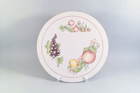 "Boots - Orchard - Placemat - 8 1/2"" - The China Village"