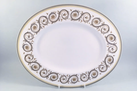 "Wedgwood - Venetia - Susie Cooper - Oval Platter - 13 1/4"" - The China Village"