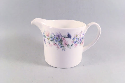 Wedgwood - Angela - Plain Edge - Milk Jug - 1/2pt - The China Village