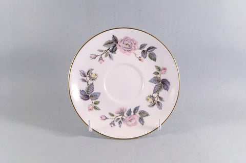 "Royal Worcester - June Garland - Tea Saucer - 5 5/8"" - The China Village"