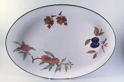 "Royal Worcester - Evesham Vale - Oval Platter - 15"" - The China Village"