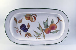 "Royal Worcester - Evesham Vale - Sandwich Tray - 13 1/8"" - The China Village"