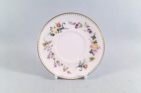 "Wedgwood - Mirabelle - Coffee Saucer - 4 3/4"" - The China Village"