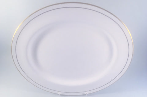 "Royal Worcester - Contessa - Oval Platter - 13 3/8"" - The China Village"