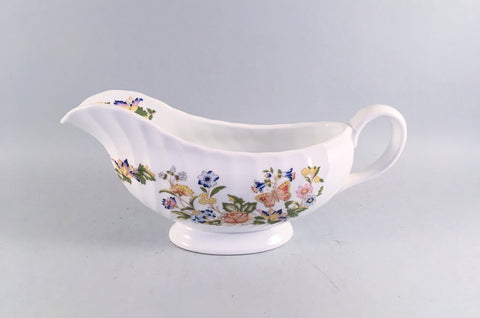 Aynsley - Cottage Garden - Swirl Shape - Sauce Boat - The China Village