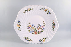 "Aynsley - Cottage Garden - Swirl Shape - Bread & Butter Plate - 10 1/2"" - The China Village"