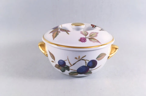 Royal Worcester - Evesham - Gold Edge - Casserole Dish - 1/2pt - The China Village