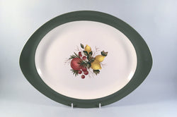"Wedgwood - Covent Garden - Oval Platter - 14 3/4"" - The China Village"