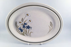 "Royal Doulton - Hill Top - Oval Platter - 13 1/4"" - The China Village"