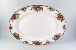 "Royal Albert - Old Country Roses - Oval Platter - 15"" - The China Village"