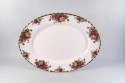 "Royal Albert - Old Country Roses - Oval Platter - 12 3/4"" - The China Village"