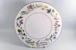 "Royal Worcester - Arcadia - Gateaux Plate - 11"" - The China Village"