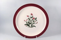 "Wedgwood - Mayfield - Ruby - Dinner Plate - 10 1/8"" - The China Village"
